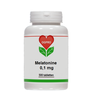 OGPRO Melatonine 0,1 mg